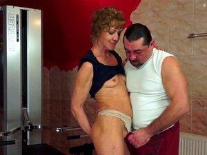 Ass fucking granny Mature anal
